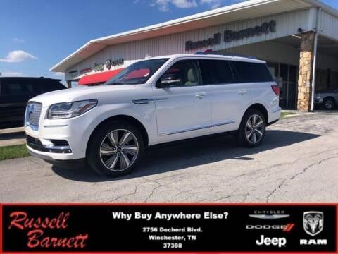 2019 Lincoln Navigator for sale at Russell Barnett Chrysler Dodge Jeep Ram in Winchester TN