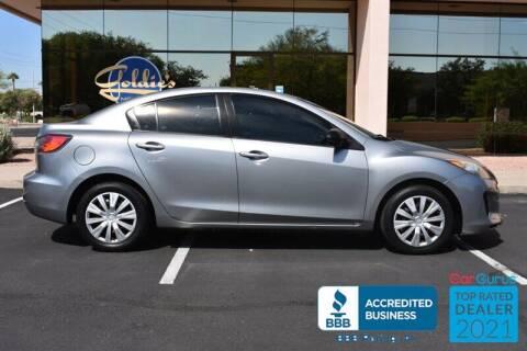 2013 Mazda MAZDA3 for sale at GOLDIES MOTORS in Phoenix AZ