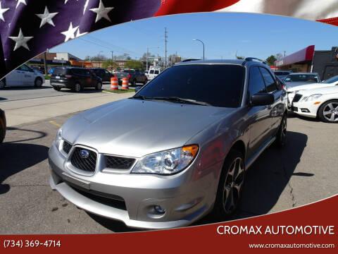 2007 Subaru Impreza for sale at Cromax Automotive in Ann Arbor MI