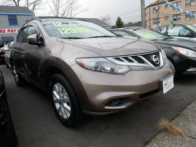 2012 Nissan Murano for sale at M & R Auto Sales INC. in North Plainfield NJ