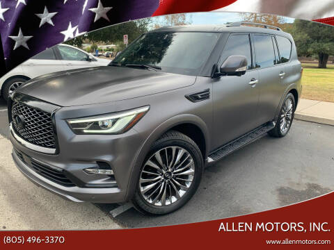 2018 Infiniti QX80 for sale at Allen Motors, Inc. in Thousand Oaks CA
