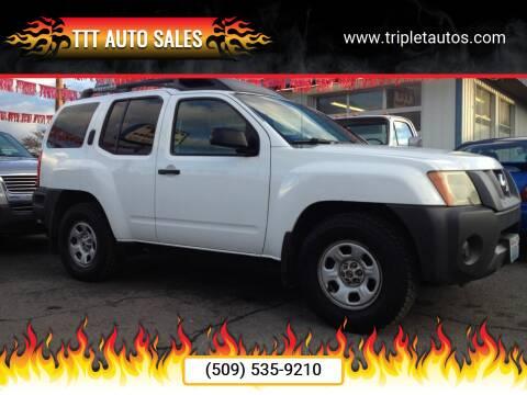 2006 Nissan Xterra for sale at TTT Auto Sales in Spokane WA