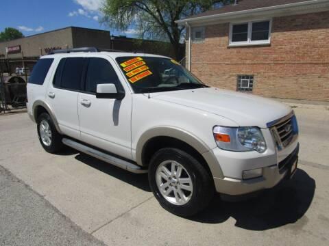2010 Ford Explorer for sale at RON'S AUTO SALES INC in Cicero IL