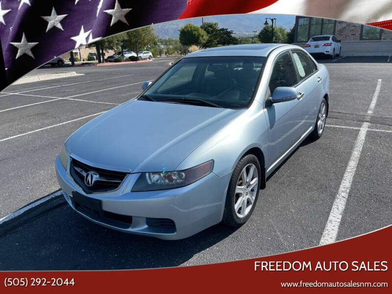 2004 Acura TSX for sale at Freedom Auto Sales in Albuquerque NM