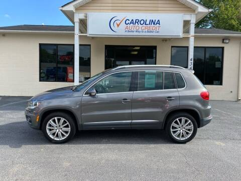 2012 Volkswagen Tiguan for sale at Carolina Auto Credit in Youngsville NC