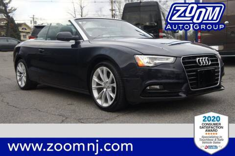 2013 Audi A5 for sale at Zoom Auto Group in Parsippany NJ
