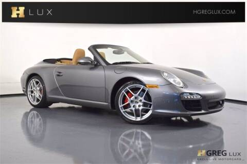 2011 Porsche 911 for sale at HGREG LUX EXCLUSIVE MOTORCARS in Pompano Beach FL