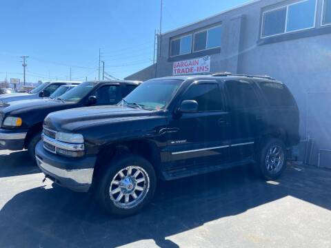 2001 Chevrolet Tahoe for sale at Auto Image Auto Sales in Pocatello ID
