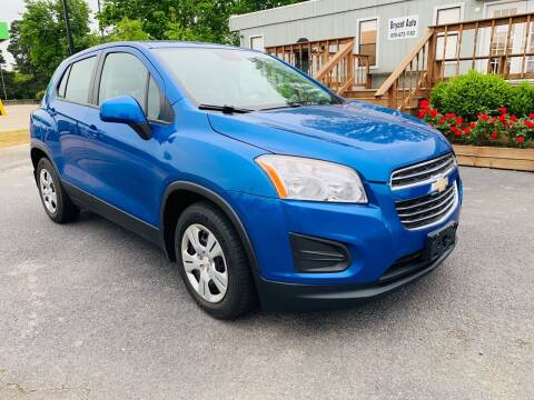 2015 Chevrolet Trax for sale at BRYANT AUTO SALES in Bryant AR