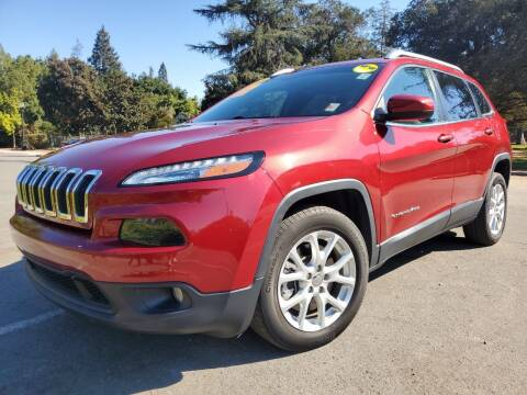 2015 Jeep Cherokee for sale at ALL CREDIT AUTO SALES in San Jose CA