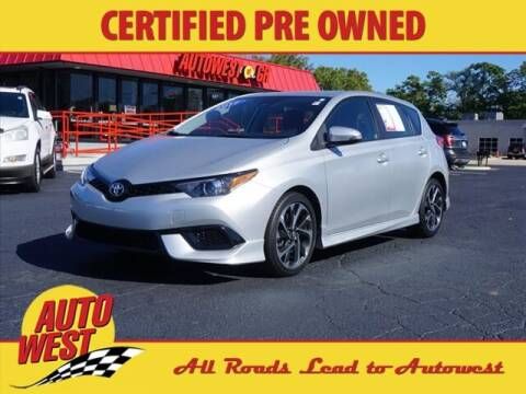 2017 Toyota Corolla iM for sale at Autowest of GR in Grand Rapids MI