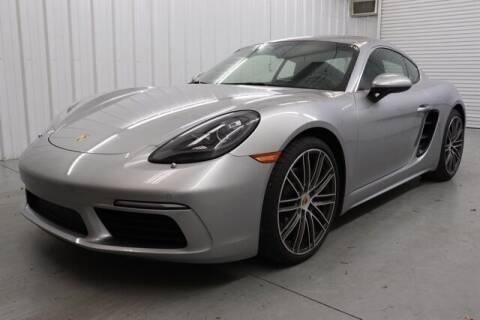 2018 Porsche 718 Cayman for sale at JOE BULLARD USED CARS in Mobile AL