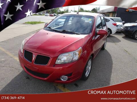 2009 Pontiac G3 for sale at Cromax Automotive in Ann Arbor MI