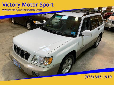 2001 Subaru Forester for sale at Victory Motor Sport in Paterson NJ