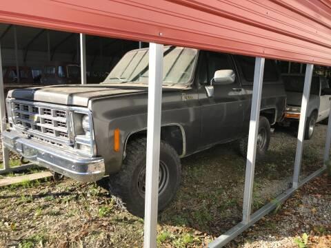 1979 Chevrolet C/K 10 Series for sale at CAROLINA TOY SHOP LLC in Hartsville SC