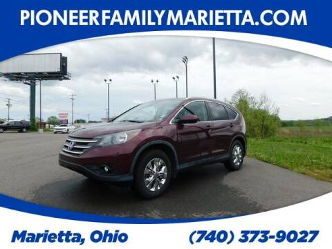 2012 Honda CR-V for sale at Pioneer Family preowned autos in Williamstown WV
