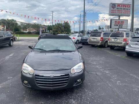 2005 Chrysler Sebring for sale at King Auto Deals in Longwood FL