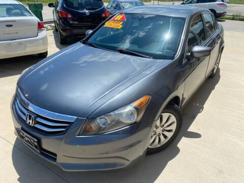 2011 Honda Accord for sale at Raj Motors Sales in Greenville TX