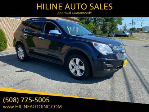 2015 Chevrolet Equinox for sale at HILINE AUTO SALES in Hyannis MA