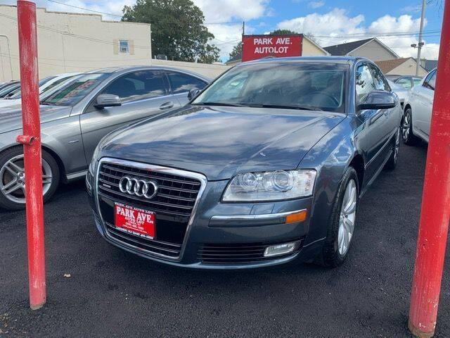 2009 Audi A8 for sale at Park Avenue Auto Lot Inc in Linden NJ