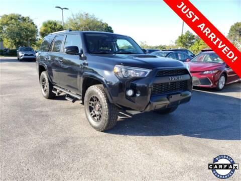 2018 Toyota 4Runner for sale at PHIL SMITH AUTOMOTIVE GROUP - Toyota Kia of Vero Beach in Vero Beach FL