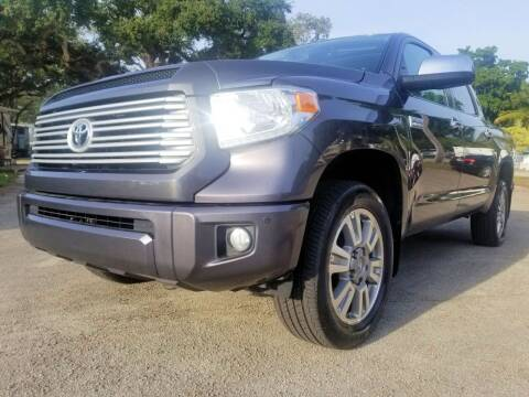2017 Toyota Tundra for sale at M.D.V. INTERNATIONAL AUTO CORP in Fort Lauderdale FL