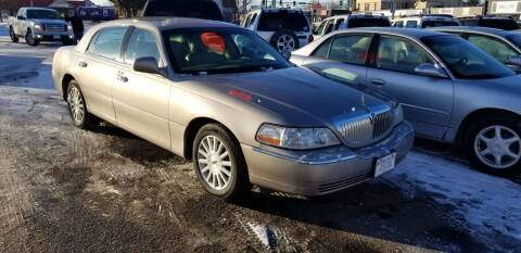 2003 Lincoln Town Car for sale at Tower Motors in Brainerd MN