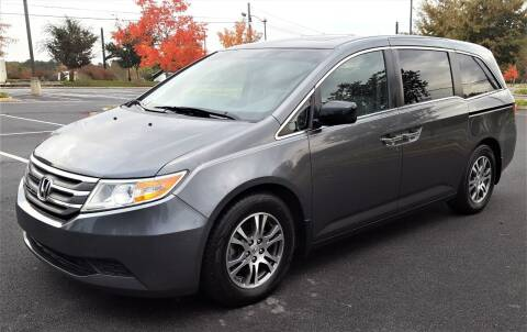 2012 Honda Odyssey for sale at memar auto sales, inc. in Marietta GA