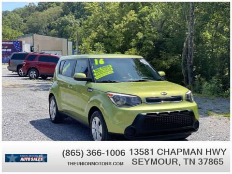 2016 Kia Soul for sale at Union Motors in Seymour TN