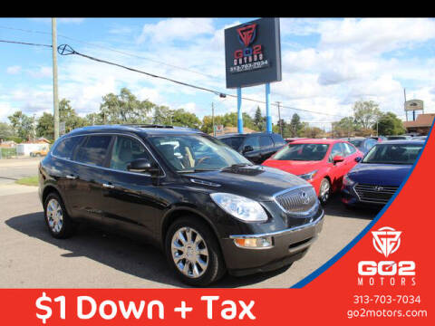 2012 Buick Enclave for sale at Go2Motors in Redford MI