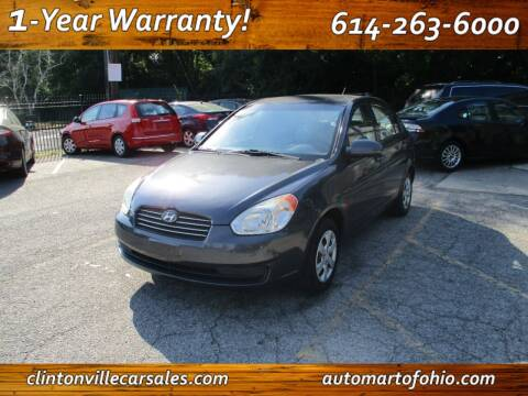 2009 Hyundai Accent for sale at Clintonville Car Sales - AutoMart of Ohio in Columbus OH
