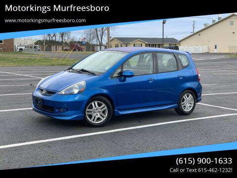 2008 Honda Fit for sale at Motorkings Murfreesboro in Murfreesboro TN