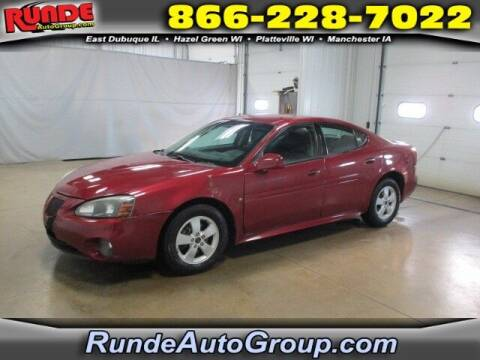 2006 Pontiac Grand Prix for sale at Runde Chevrolet in East Dubuque IL