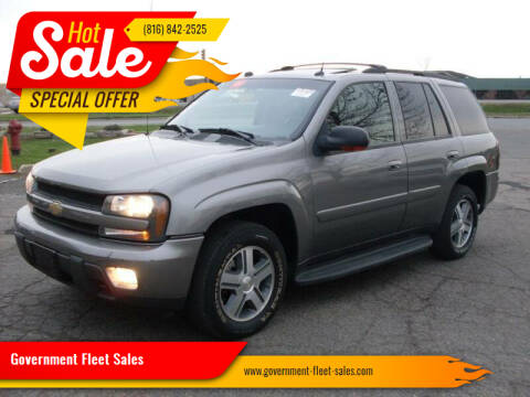 2005 Chevrolet TrailBlazer for sale at Government Fleet Sales - Buy Here Pay Here in Kansas City MO