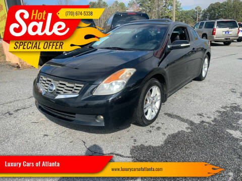 2008 Nissan Altima for sale at Luxury Cars of Atlanta in Snellville GA