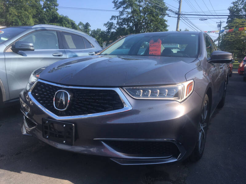 2018 Acura TLX for sale at MELILLO MOTORS INC in North Haven CT