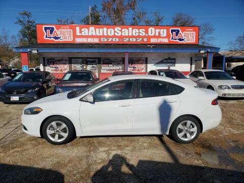 2016 Dodge Dart for sale at LA Auto Sales in Monroe LA