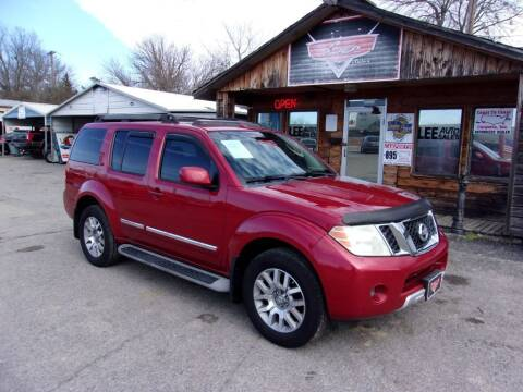 2010 Nissan Pathfinder for sale at LEE AUTO SALES in McAlester OK