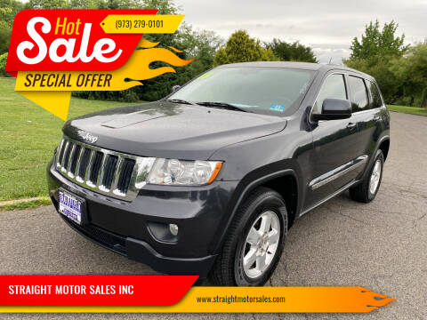 2013 Jeep Grand Cherokee for sale at STRAIGHT MOTOR SALES INC in Paterson NJ