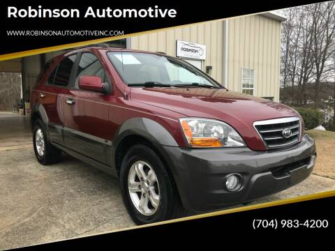 2007 Kia Sorento for sale at Robinson Automotive in Albermarle NC