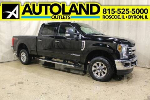 2018 Ford F-250 Super Duty for sale at AutoLand Outlets Inc in Roscoe IL