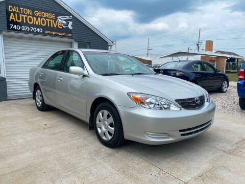 2004 Toyota Camry for sale at Dalton George Automotive in Marietta OH