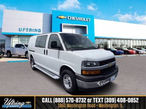 2019 Chevrolet Express Cargo for sale at Gary Uftring's Used Car Outlet in Washington IL