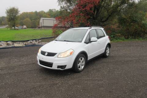 2012 Suzuki SX4 Crossover for sale at Clearwater Motor Car in Jamestown NY