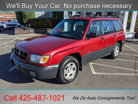 2000 Subaru Forester for sale at Platinum Autos in Woodinville WA
