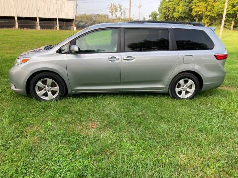 2015 Toyota Sienna for sale at Rustys Auto Sales - Rusty's Auto Sales in Platte City MO