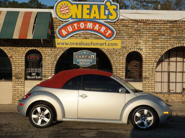 2009 Volkswagen New Beetle Convertible for sale at Oneal's Automart LLC in Slidell LA