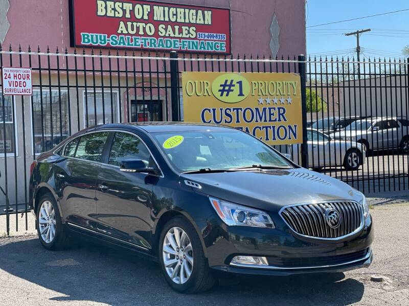 2015 Buick LaCrosse for sale at Best of Michigan Auto Sales in Detroit MI