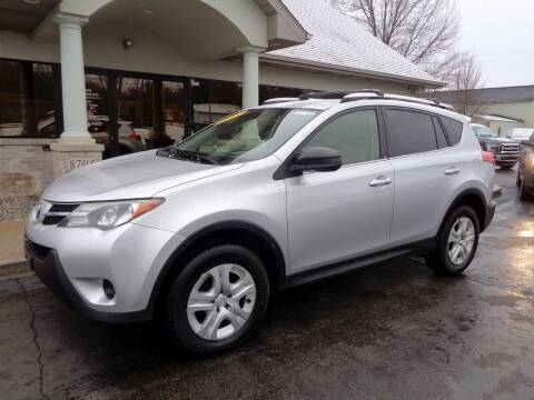 2013 Toyota RAV4 for sale at DEALS UNLIMITED INC in Portage MI