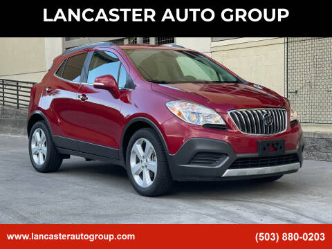 2015 Buick Encore for sale at LANCASTER AUTO GROUP in Portland OR